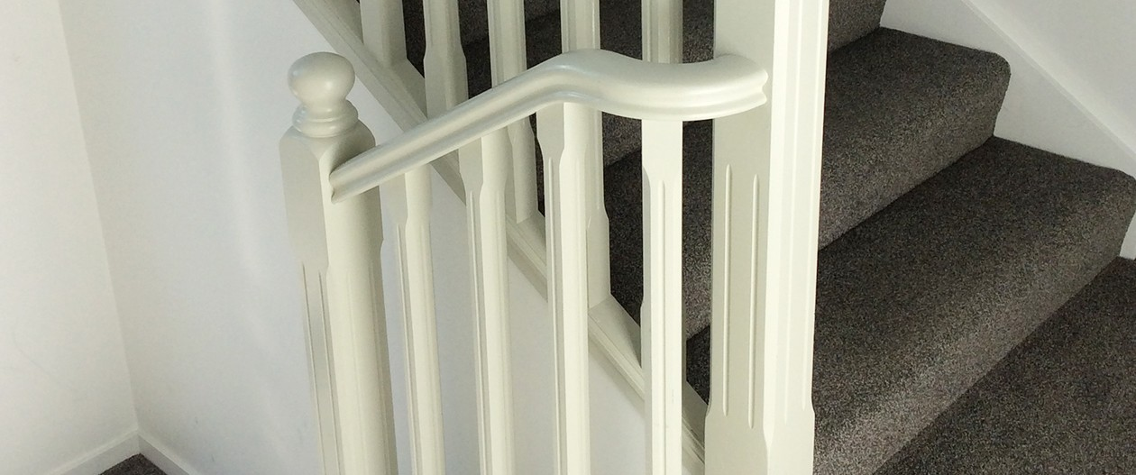 Charteris Woodturners Balustrade Slide 4